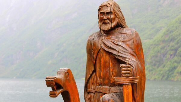 Una figura de vikingo (imagen ilustrativa) - Sputnik Mundo