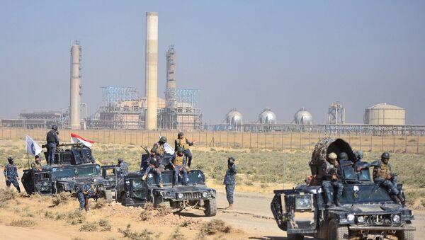 Tropas iraquíes en Kirkuk - Sputnik Mundo