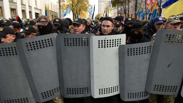 Protestas en Kiev, Ucrania - Sputnik Mundo