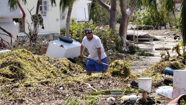 Consecuencias del huracán Irma en Cuba (archivo) - Sputnik Mundo
