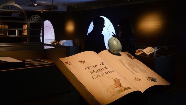 Exposición de Harry Potter en la Biblioteca Británica - Sputnik Mundo