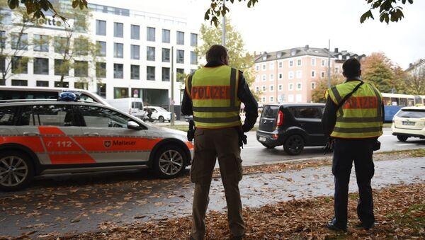 Lugar del ataque en Múnich - Sputnik Mundo