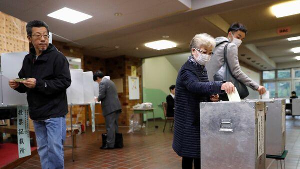 Elecciones en Japón - Sputnik Mundo