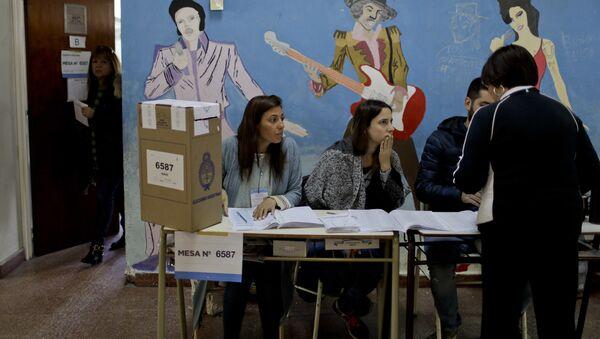 Jornada de las elecciones legislativas argentinas (2017) - Sputnik Mundo