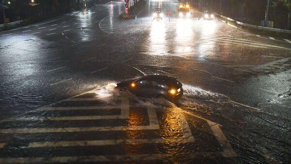 El tifón Lan en Japón - Sputnik Mundo