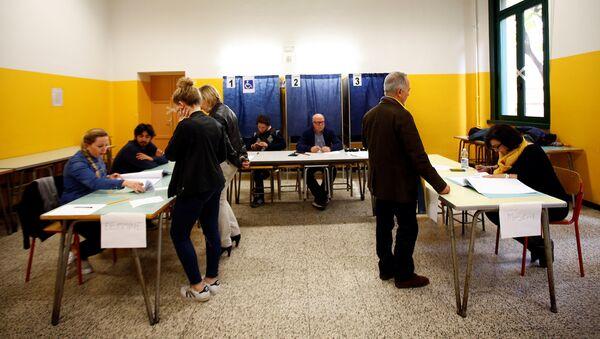 Referéndum en Lombardía - Sputnik Mundo