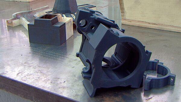 Las piezas imprimidas por la nueva impresora 3D de UVZ - Sputnik Mundo