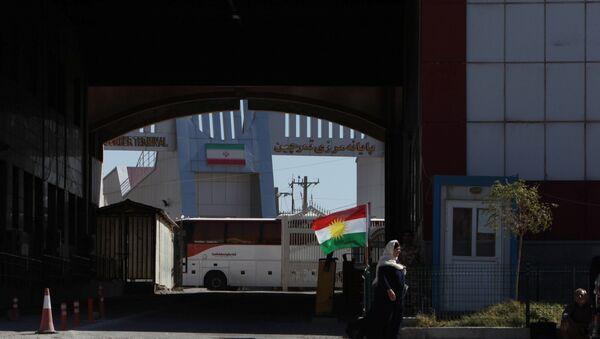 Frontera entre Irán y Kurdistán iraquí - Sputnik Mundo