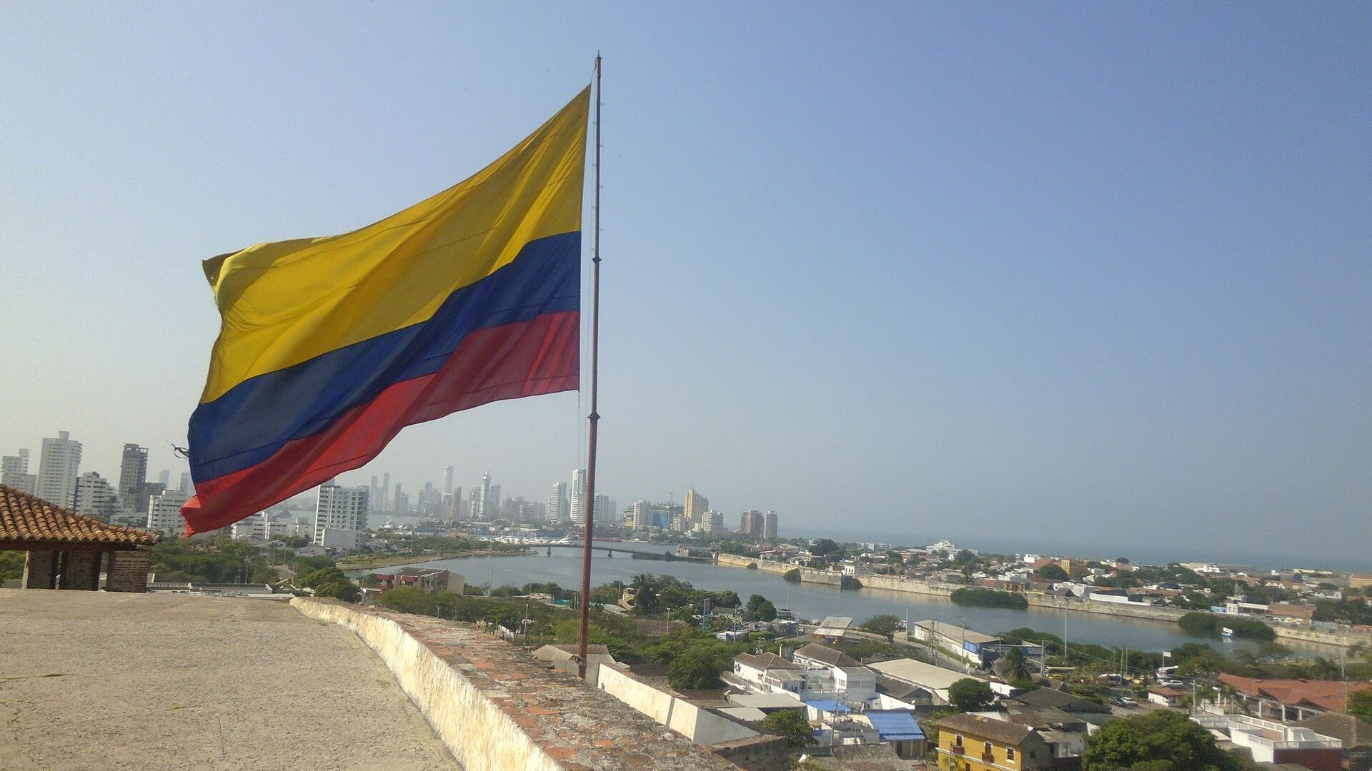 Bandera de Colombia - Sputnik Mundo, 1920, 28.09.2021