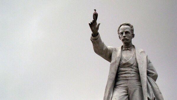Monumento de José Martí (archivo) - Sputnik Mundo