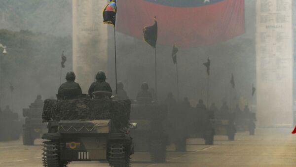 Tanques venezolanos (archivo) - Sputnik Mundo