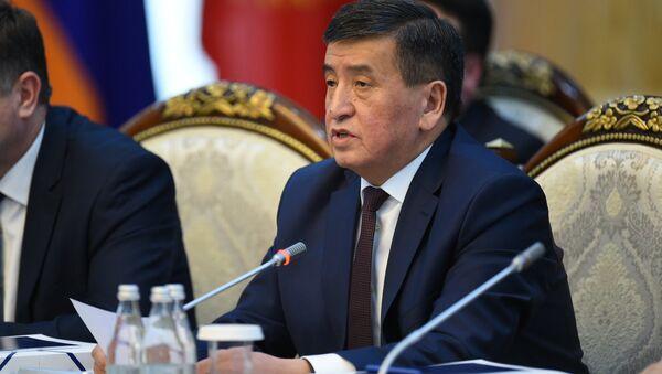 Sooronbái Zheenbékov, el nuevo presidente de Kirguistán - Sputnik Mundo