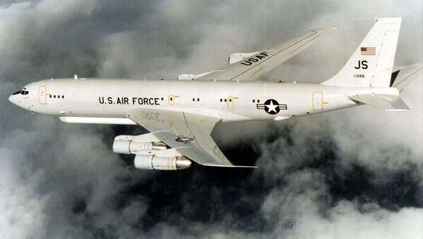 Un avión militar estadounidense Grumman E-8 Joint STARS (archivo) - Sputnik Mundo