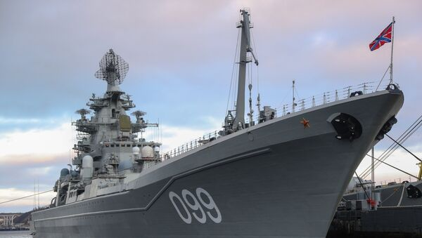 Los buques que tiñen de gala la bahía de Kola - Sputnik Mundo