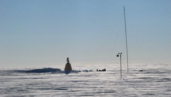 El busto de Vladímir Lenin en el Polo Sur de Inaccesibilidad - Sputnik Mundo