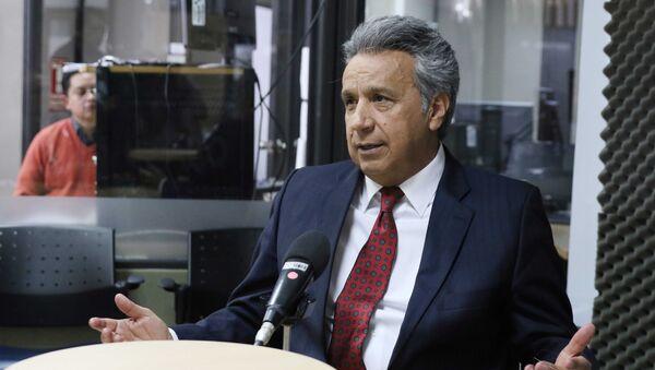 Lenín Moreno, presidente de Ecuador (archivo) - Sputnik Mundo