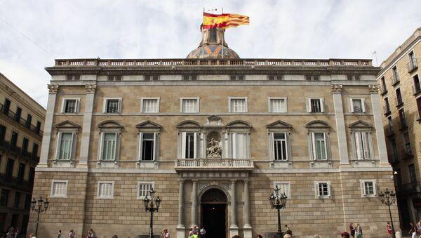 Edificio del Gobierno catalán - Sputnik Mundo