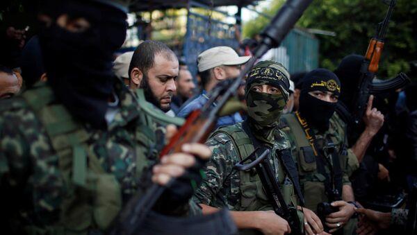 Milicianos del movimiento Yihad Islámica - Sputnik Mundo
