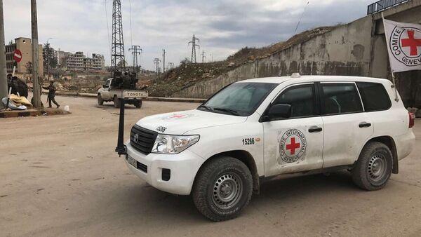 La Cruz Roja en Siria (archivo) - Sputnik Mundo