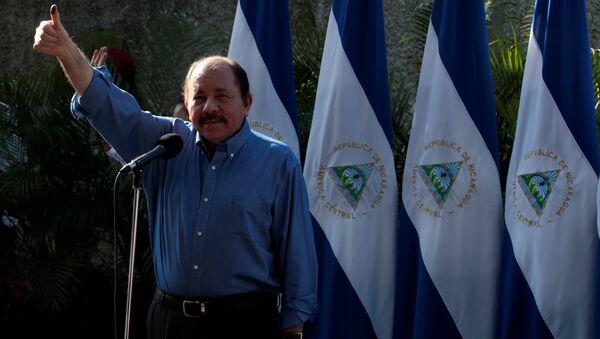 Daniel Ortega, presidente de Nicaragua - Sputnik Mundo