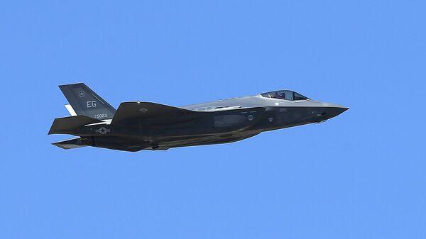 El caza de EEUU F-35A - Sputnik Mundo