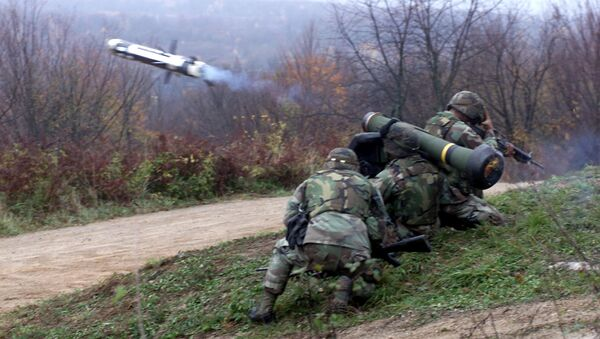 Sistema de misiles antitanque Javelin - Sputnik Mundo