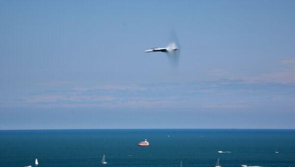 Un avión hipersónico - Sputnik Mundo