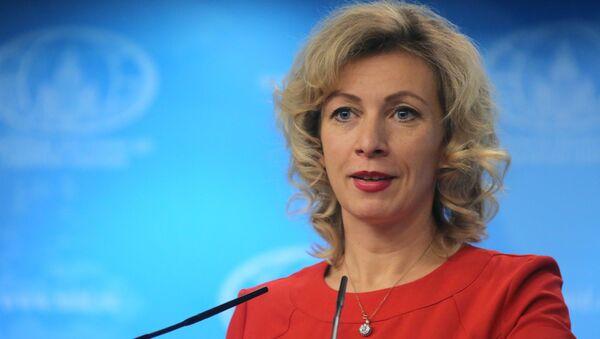 María Zajárova, portavoz del Ministerio de Asuntos Exteriores de Rusia - Sputnik Mundo