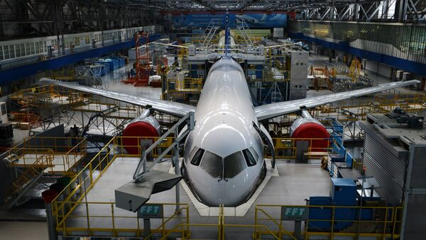 El nuevo avión ruso MC-21 - Sputnik Mundo