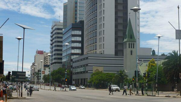 Harare, la capital de Zimbabue - Sputnik Mundo
