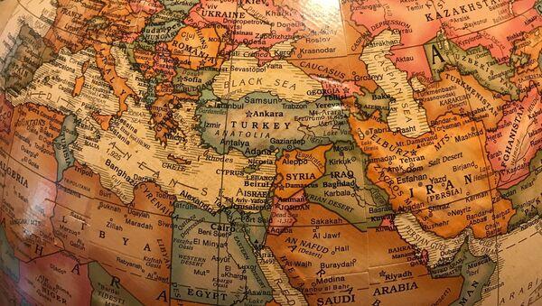 Mapa de Oriente Medio - Sputnik Mundo