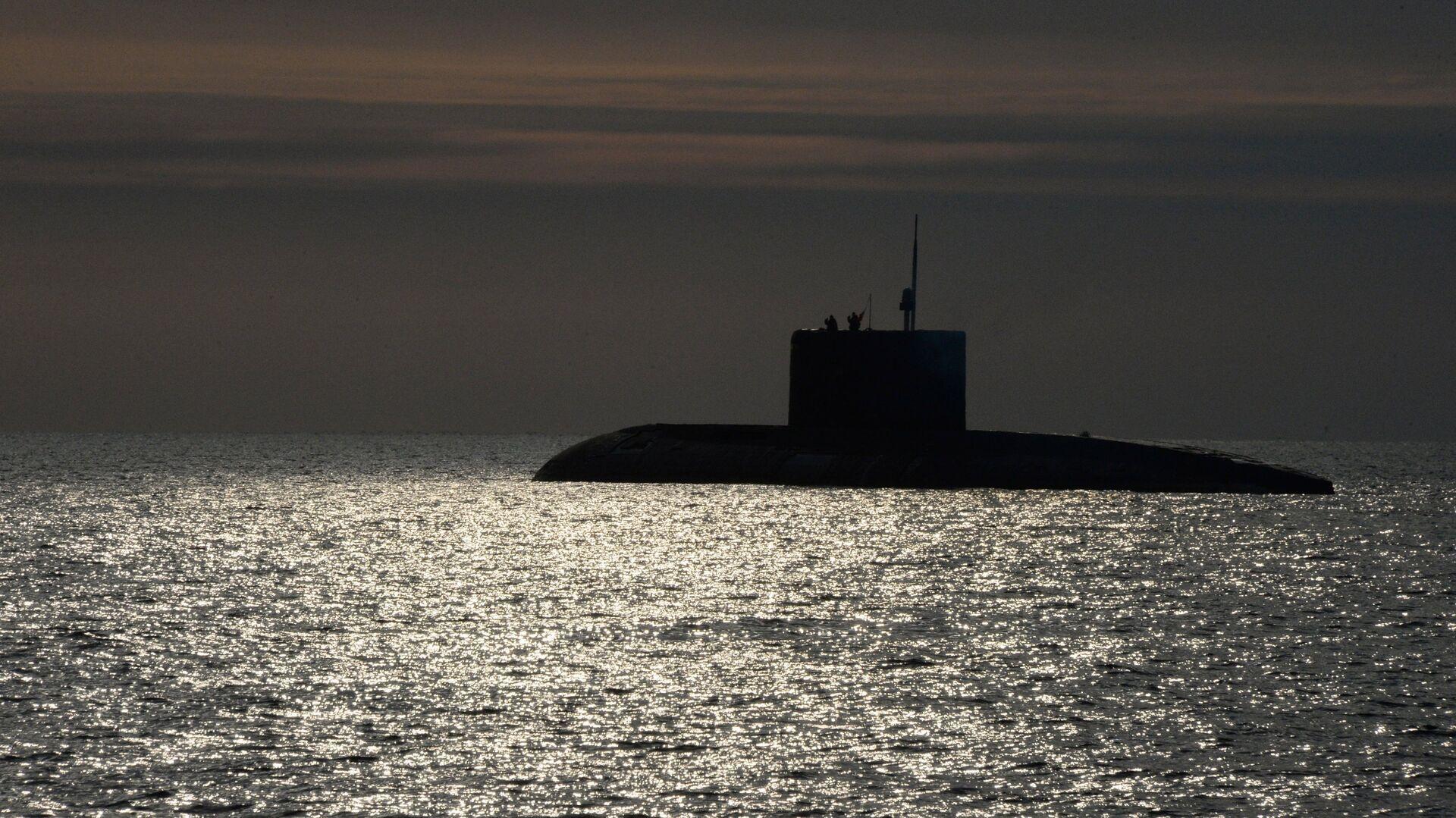 Un submarino (imagen referencial) - Sputnik Mundo, 1920, 01.10.2021