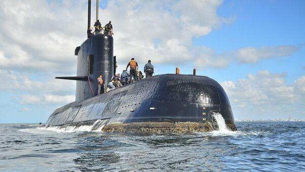Submarino San Juan - Sputnik Mundo