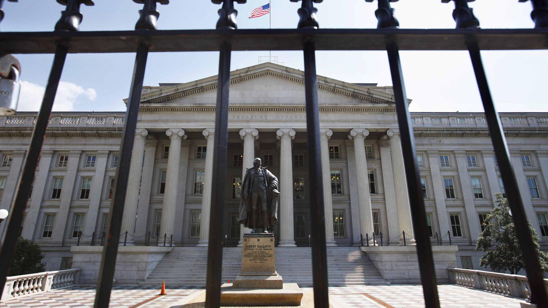 Sede del Departamento del Tesoro de Estados Unidos en Washington - Sputnik Mundo, 1920, 31.03.2021