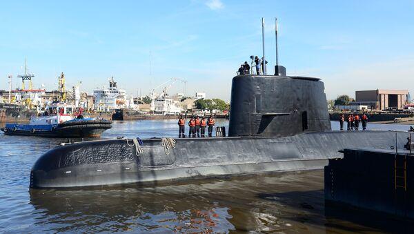 Submarino ARA San Juan - Sputnik Mundo