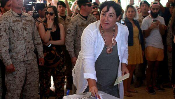 Beatriz Sánchez, candidata a la Presidencia de Chile - Sputnik Mundo