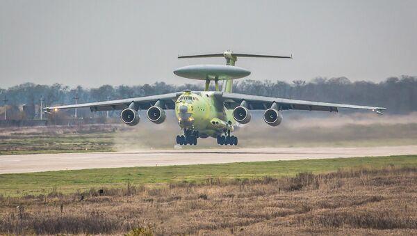 Avión de alerta temprana y control aerotransportado A-100 - Sputnik Mundo