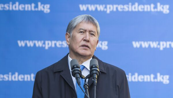 Almazbek Atambáev, presidente saliente de Kirguistán - Sputnik Mundo