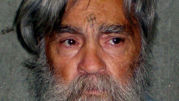 Charles Manson, asesino en serie estadounidense (archivo) - Sputnik Mundo