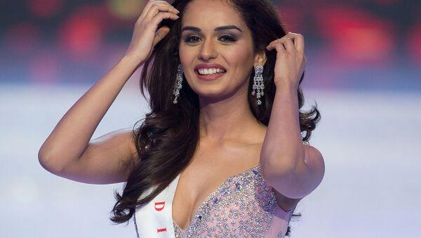 La ganadora de Miss Mundo 2017, Manushi Chhillar, de la India. - Sputnik Mundo