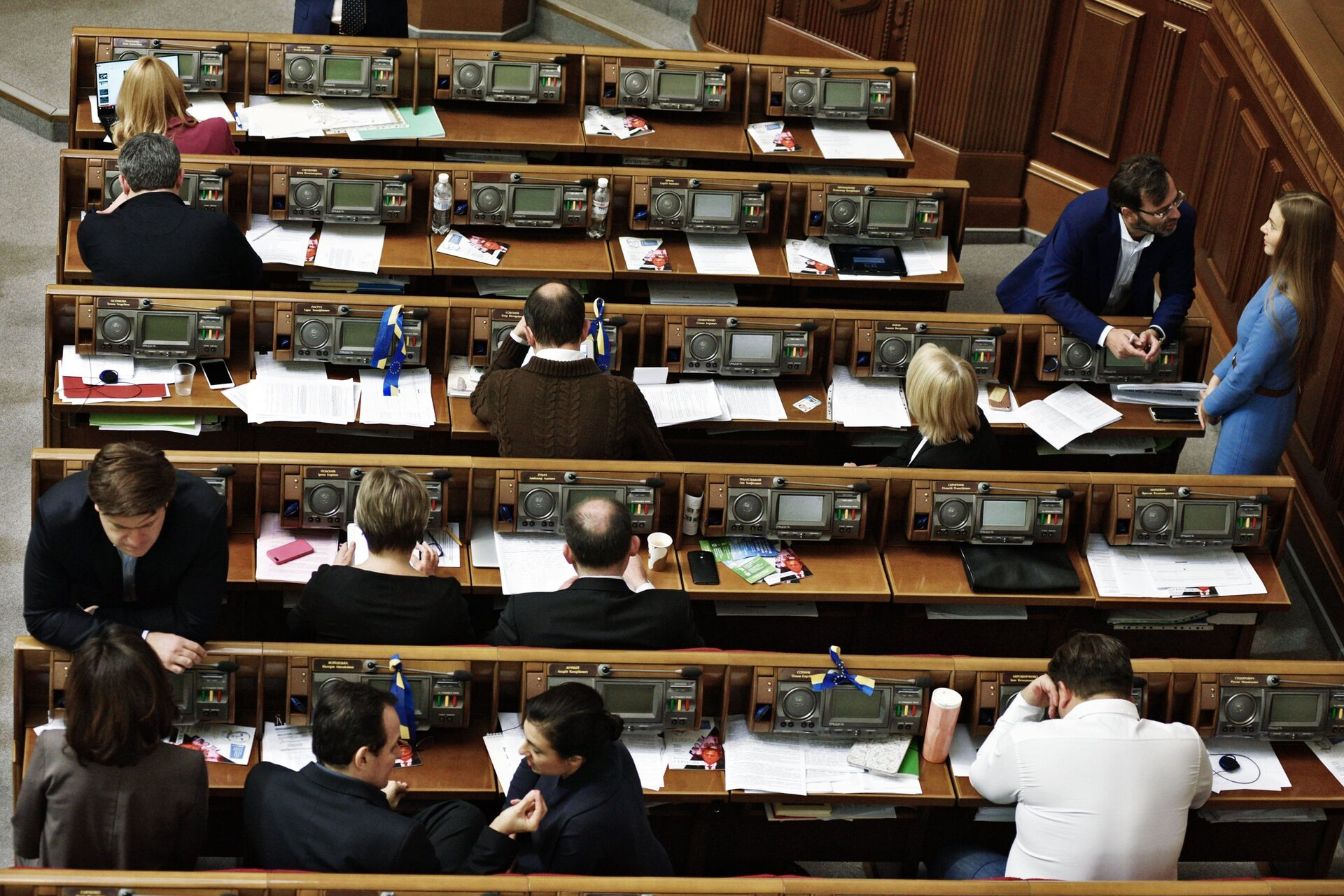 La Rada Suprema (Parlamento) de Ucrania - Sputnik Mundo, 1920, 11.02.2021