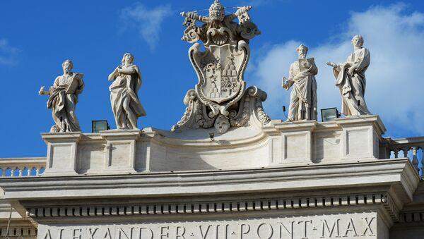 Escudo del Vaticano - Sputnik Mundo