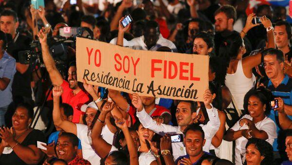 Evento conmemorativo de Fidel Castro - Sputnik Mundo