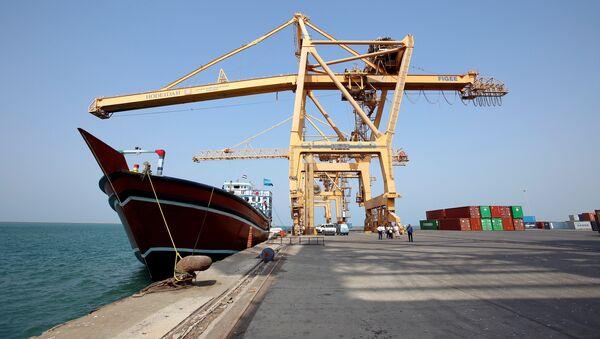 Puerto yemení de Hodeida (Archivo) - Sputnik Mundo