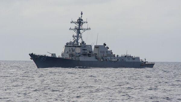 Destructor USS James E. Williams en el océano Atlántico (archivo) - Sputnik Mundo