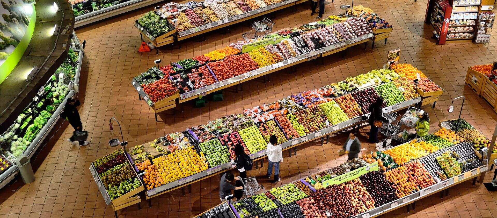 Un supermercado - Sputnik Mundo, 1920, 26.12.2020