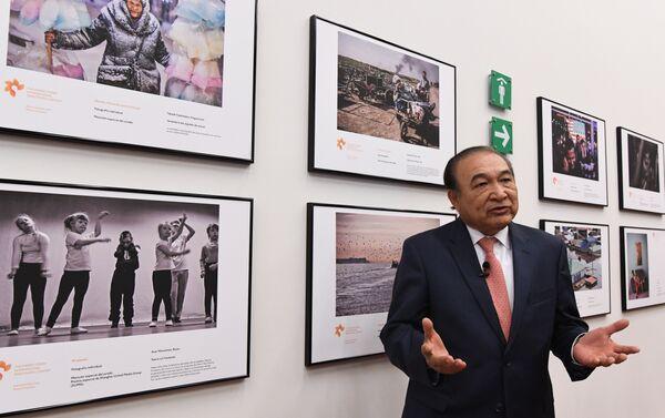Exposición de las obras ganadoras del Tercer Concurso Internacional de Fotoperiodismo Andréi Stenin en el Centro de la Imagen de México. - Sputnik Mundo