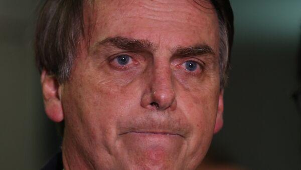 Jair Bolsonaro, diputado federal de Brasil - Sputnik Mundo