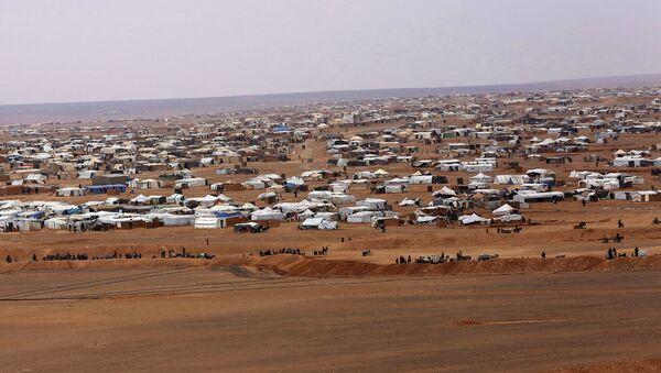 El campamento de refugiados Rukban (archivo) - Sputnik Mundo