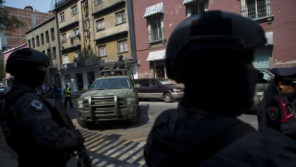 Agentes de la división antidrogas de la Policía mexicana (archivo) - Sputnik Mundo